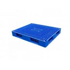 Pallet nhựa hai mặt 1200x1000mm (tải động-tải tĩnh: 1.2-5 tấn)