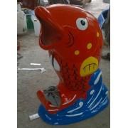 Thùng rác cá chép