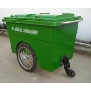 Thùng rác 660 Lít Botech Composite  FTR011