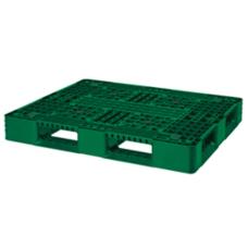 Pallet nhựa 1200x1000mm (tải động-tải tĩnh: 1-3 tấn) PL1210G-H