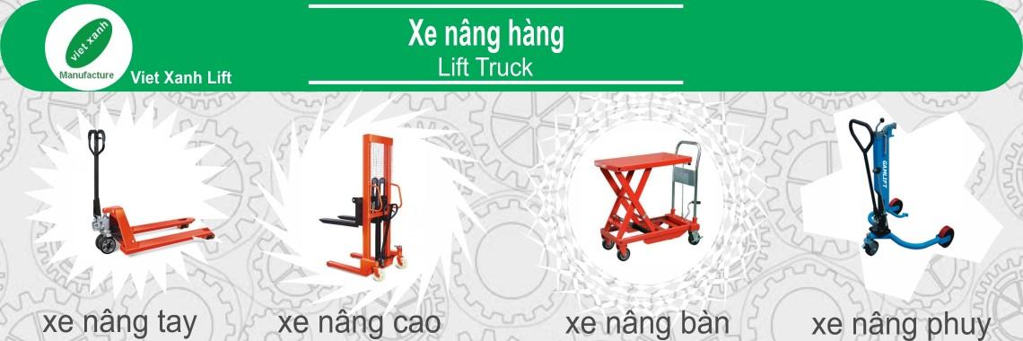 Xe nâng hàng Việt